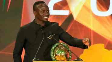 अफ्रिकन वर्ष खेलाडी बने 'साडियो माने'