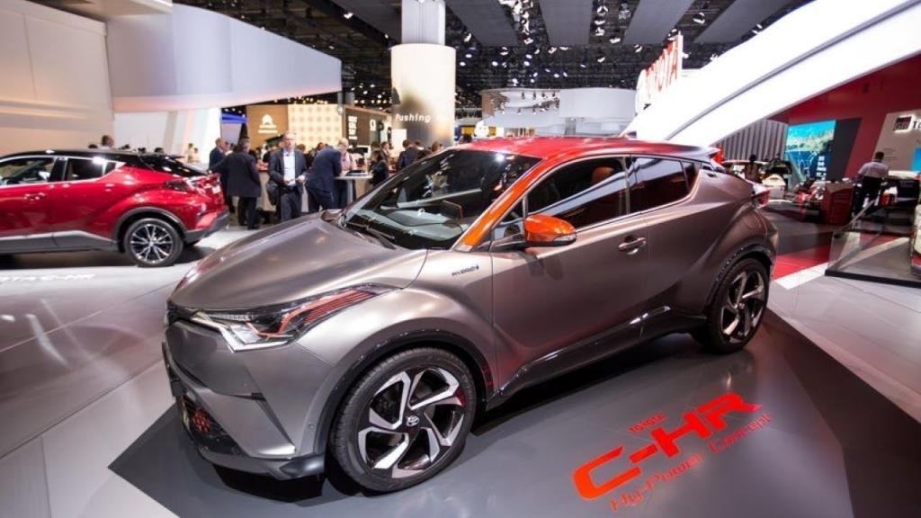 2020 Toyota CHR Spy Shots