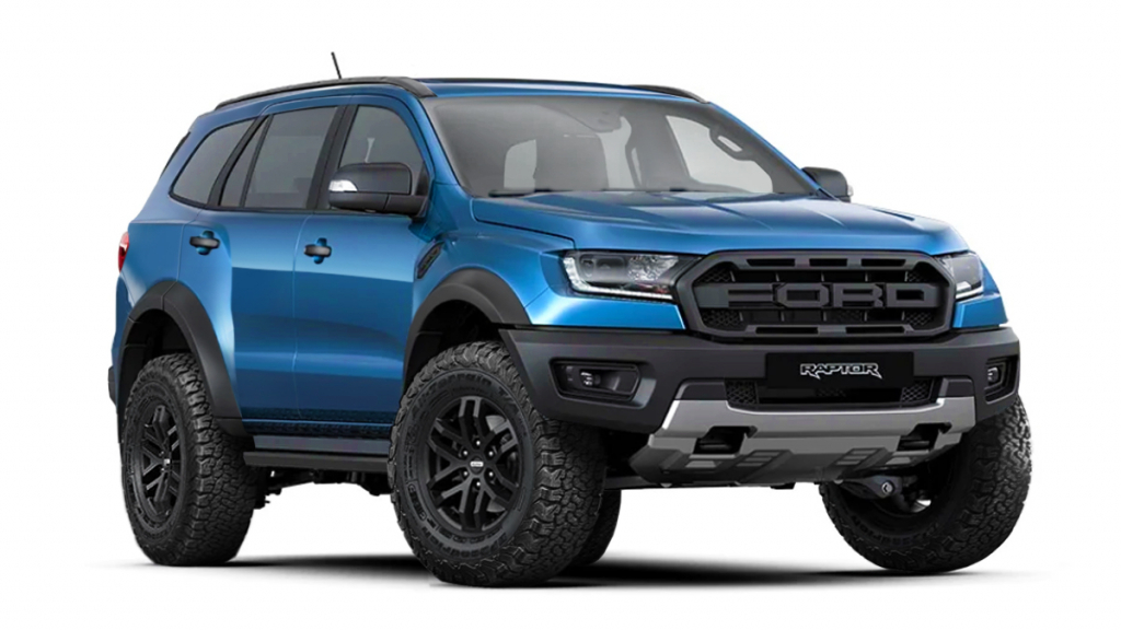 2021 Ford Everest Images