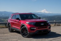 2021 Ford Explorer ST Spy Shots