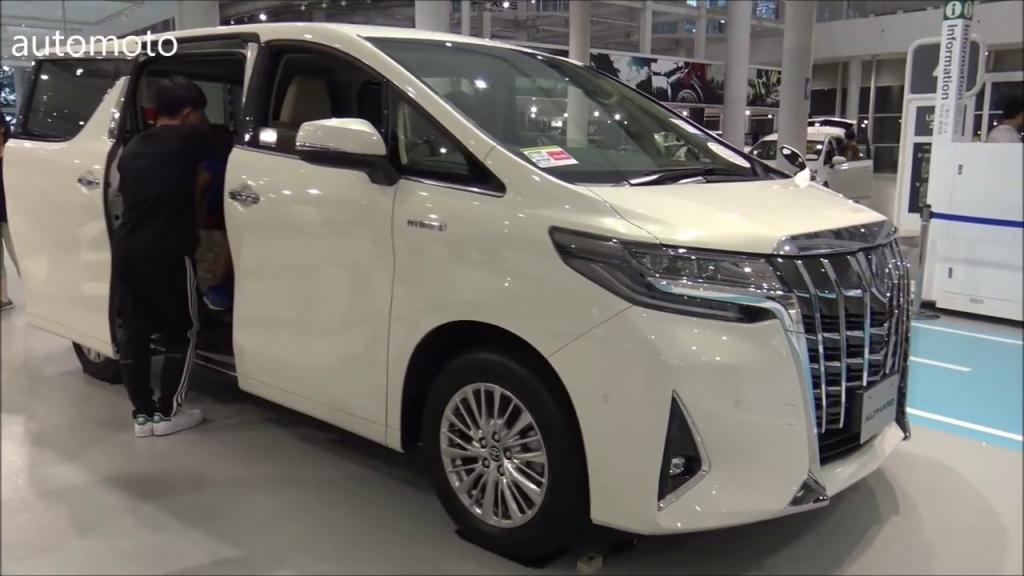 2021 Toyota Alphard Exterior