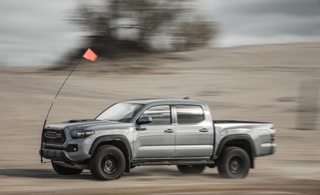 2021 Toyota Tacoma Spy Photos