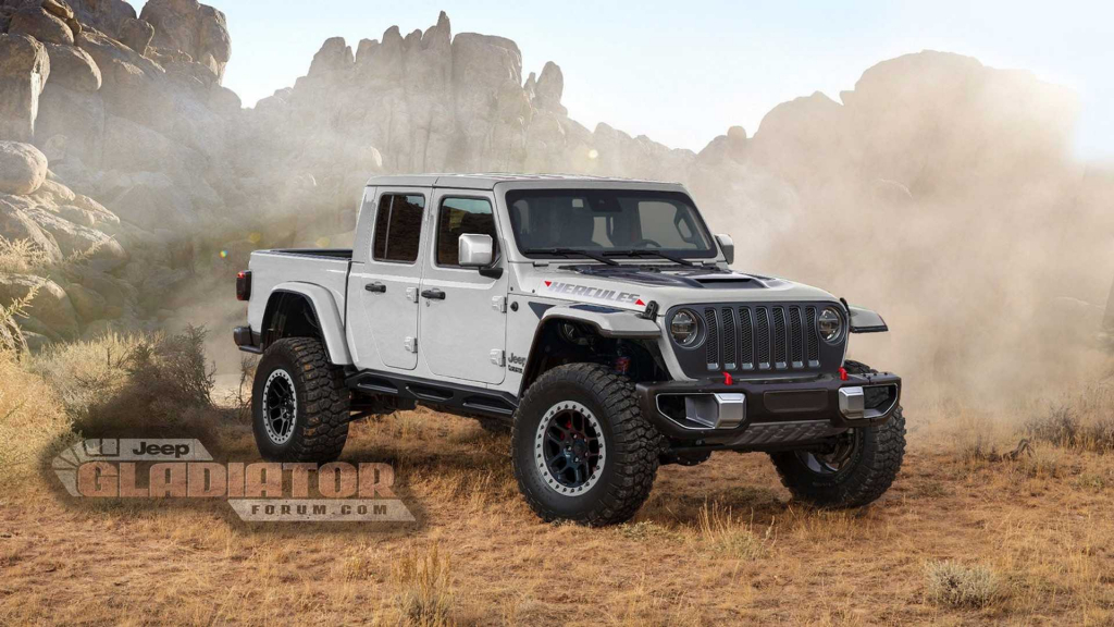 2021 jeep gladiator hercules powertrain  us newest cars