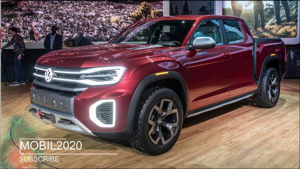 2021 VW Atlas Tanoak Interior