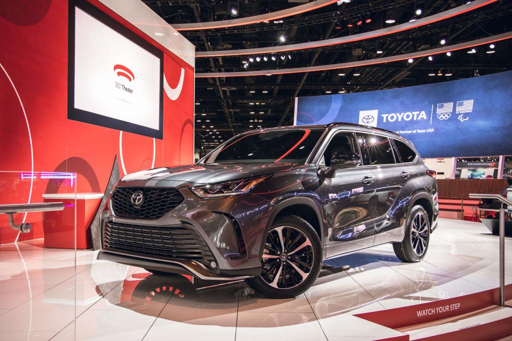 2022 Toyota Highlander Spy Photos