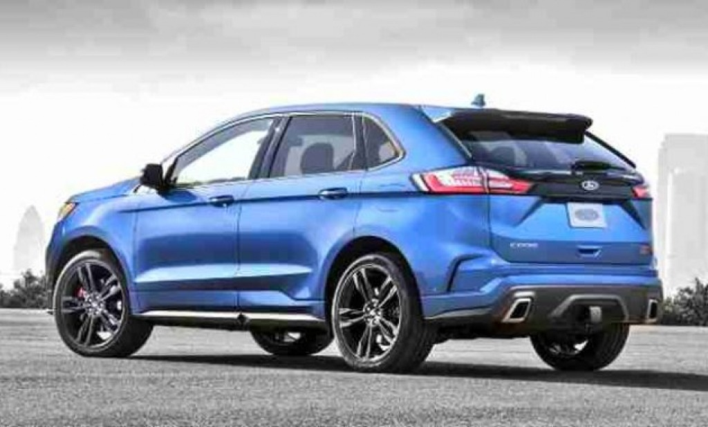 2022 Ford Edge Pictures
