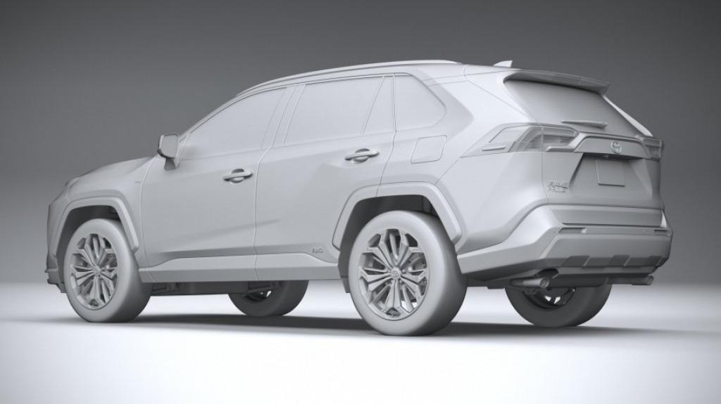 2022 Toyota RAV4 Prime Drivetrain