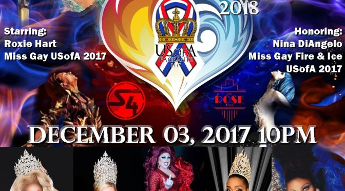 Miss Gay Fire & Ice USofA 2018 poster
