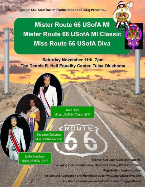 Good Luck To All The Contestants At Miss Route 66 USofA Diva 2018 !!