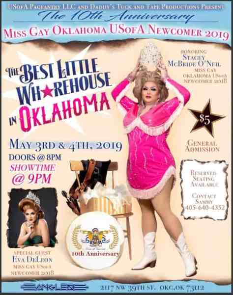 Miss Gay Oklahoma USofA Newcomer 2019