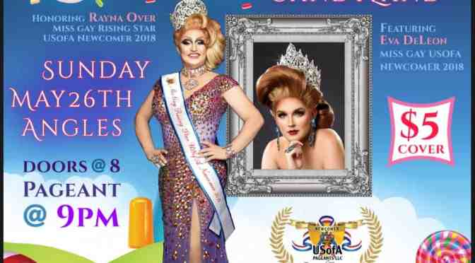 Miss Gay Rising Star USofA Newcomer 2019