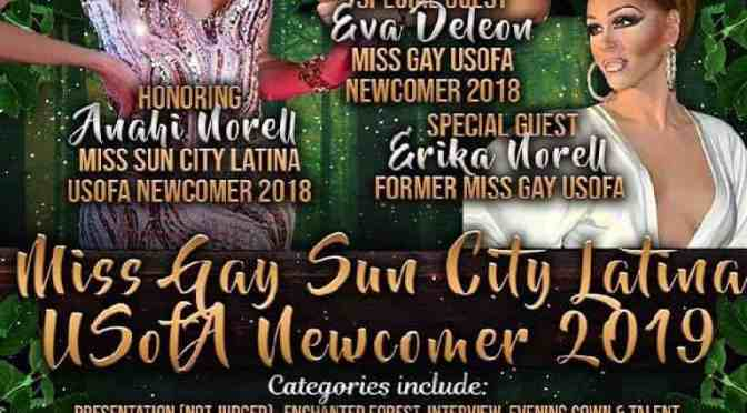 Miss Gay Sun City Latina USofA Newcomer 2019 #usofapageants