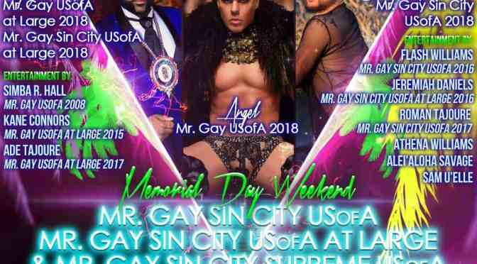 Mr Gay Sin City USofA At Large 2019 #usofapageants