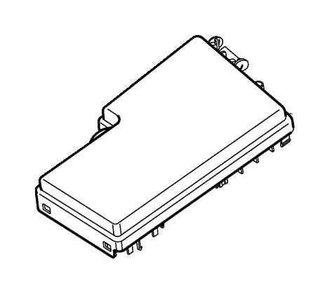 2012 Volvo V50 Fuse Box Cover. CAP. CH 210538-249999. CH
