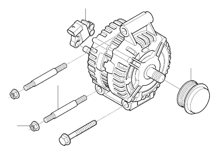 Volvo C70 Voltage regulator. Generator, Alternator, Repair