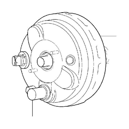 2007 Volvo S60 Flange screw. Lid, Equipment, Tailgate