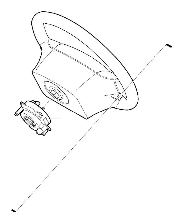 Volvo XC90 Air Bag Clockspring. Steering, DSTC, Column