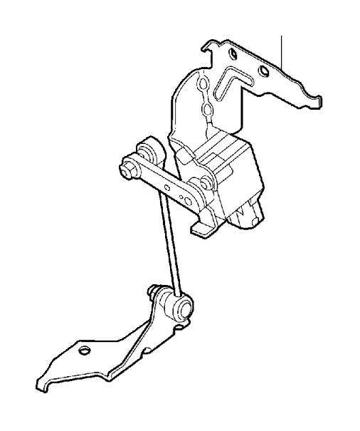 1997 Volvo Position Sensor. Position Sensor, Headlight