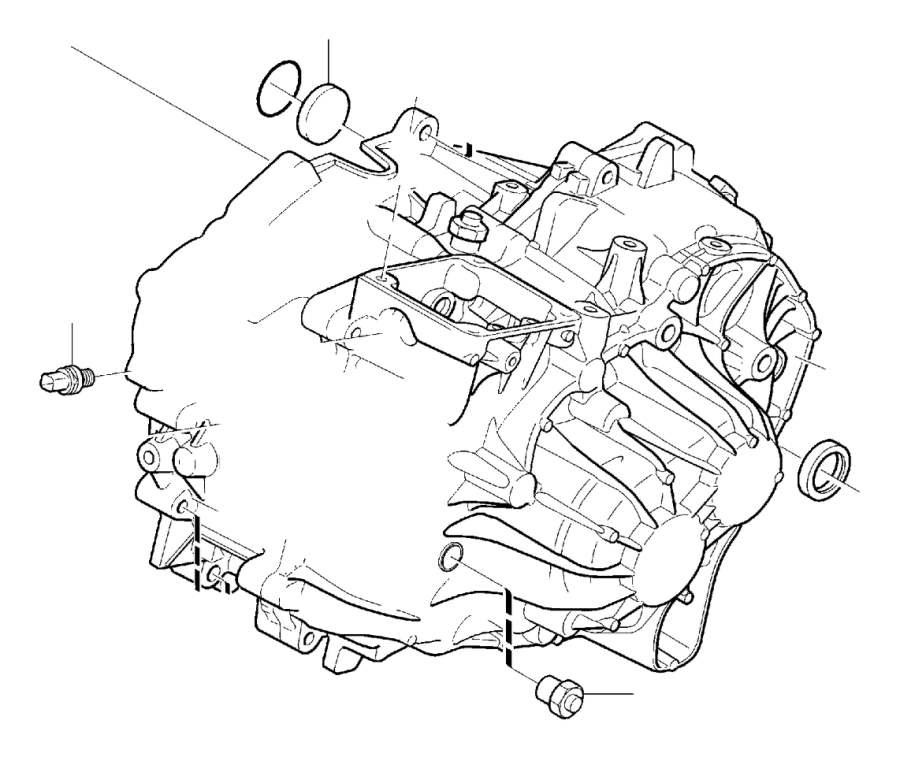 2006 Volvo V70 Transfer Case Output Shaft Seal. DRIVE