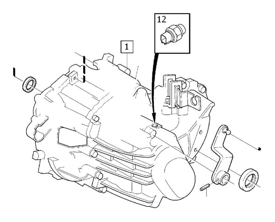 2005 Volvo V50 Sealing. Brush Holder 18. Manual Gearbox