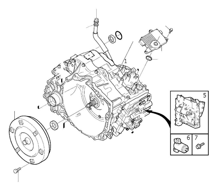 2008 Volvo S80 Automatic Transmission Control Module