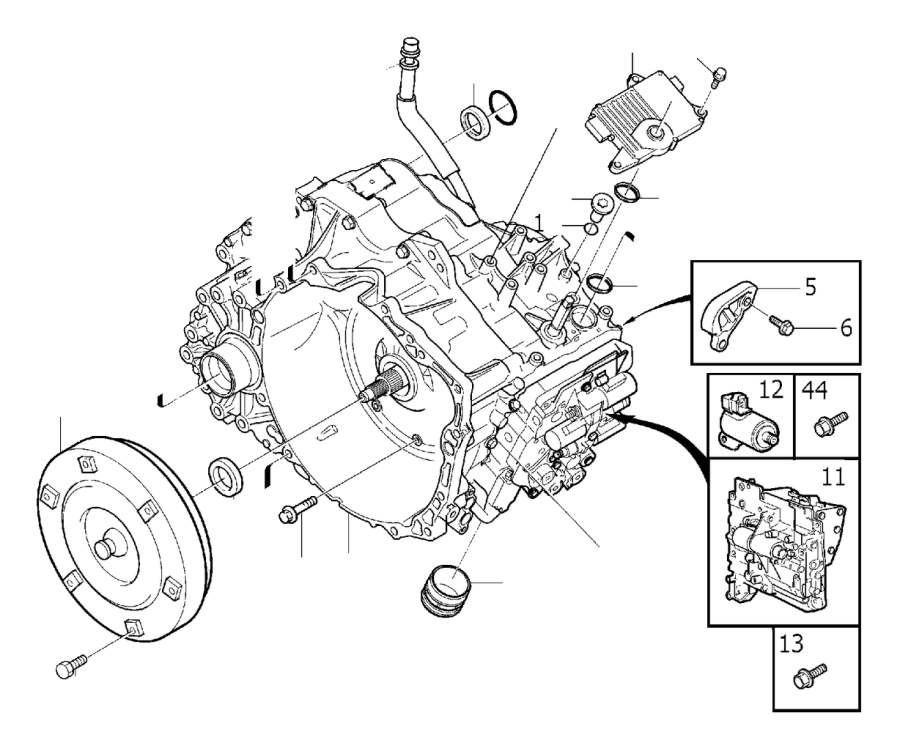Volvo XC90 Automatic gearbox, exch. Transmission