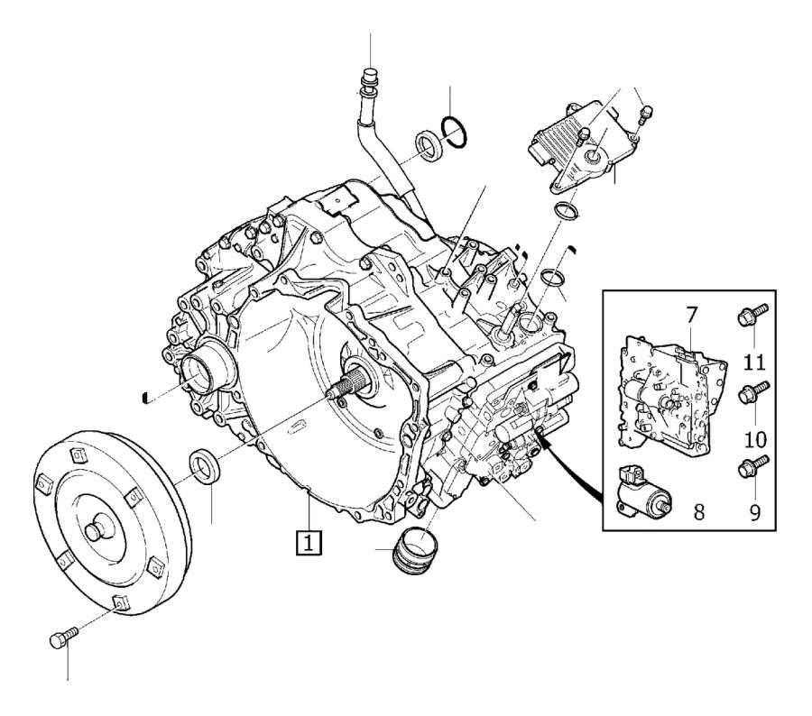 Volvo XC90 Piston kit. Automatic, Transmission, Cancer