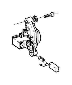 1990 Volvo 240 Carbon Brush Set. Generator, Alternator