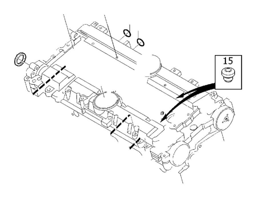1998 Volvo S90 Engine Camshaft Seal. Sealing Ring