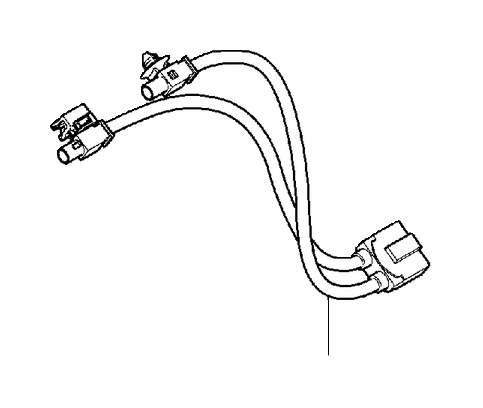 2008 Volvo Wiring harness. System, Antenna, Retrofitted