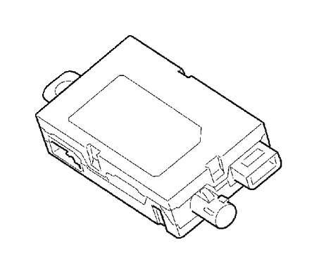 2011 Volvo Antenna amplifier. System, Rear, Radio