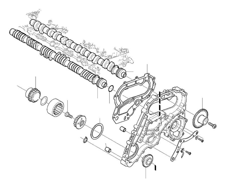Volvo S80 Engine Timing Crankshaft Sprocket. Transmission