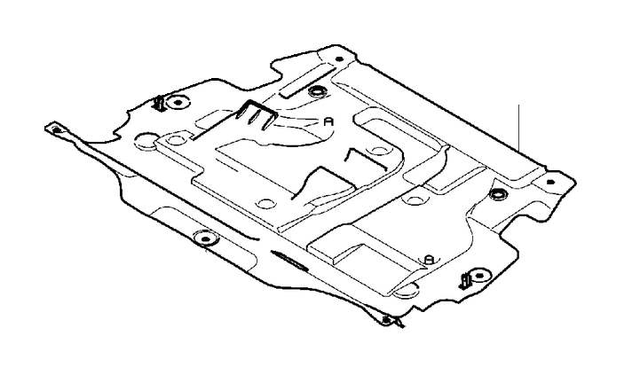 Volvo S60 Cross Stay. Engine Mountings. R Design