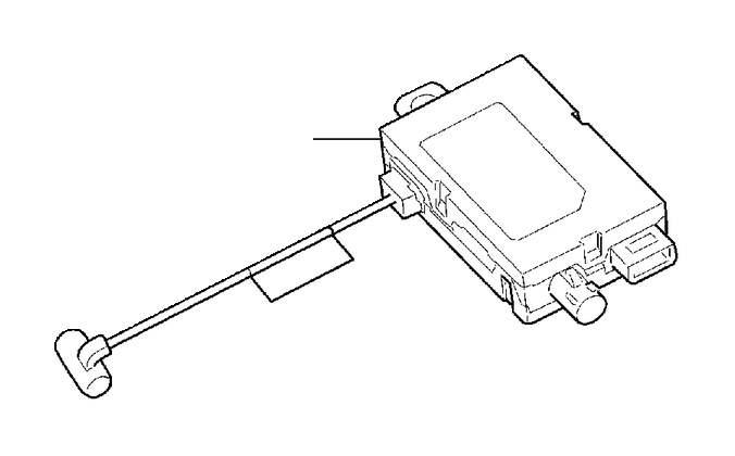 2016 Volvo Antenna amplifier. System, Radio, SIRIUS