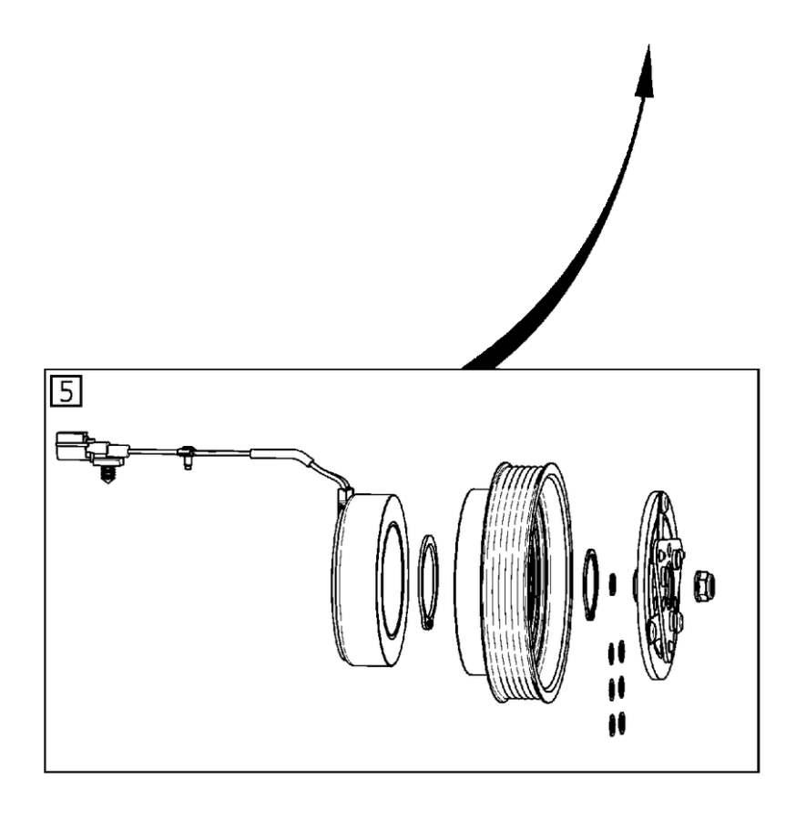 2013 Volvo XC60 Control valve. Compressor, Interior, Body