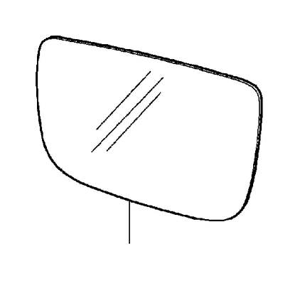 Volvo C30 Ring. Blind Spot Information System (BLIS). Door