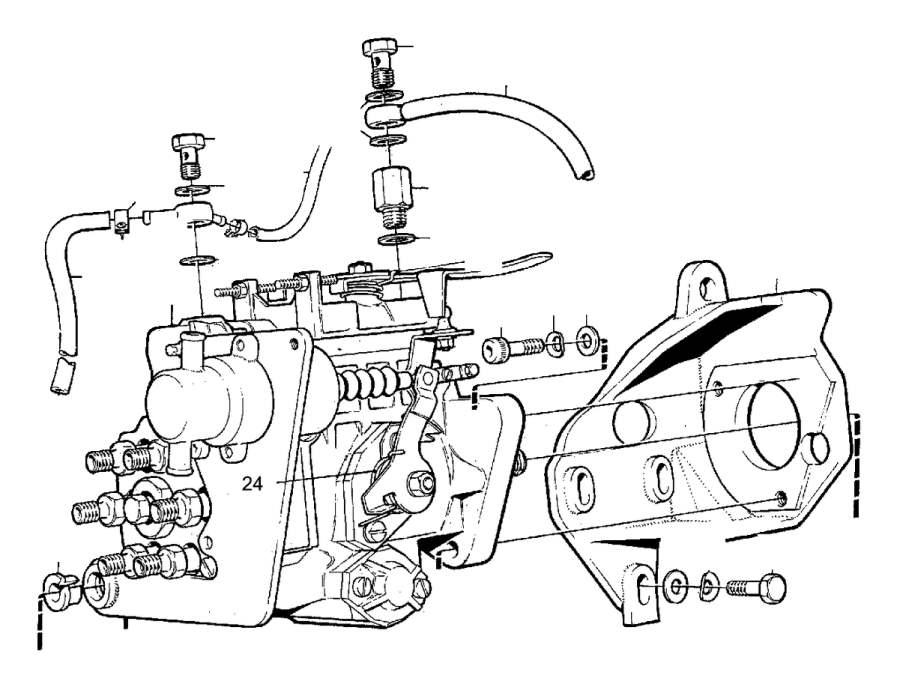 2008 Volvo S40 2.4l 5 cylinder Hose. Fuel, Manifold