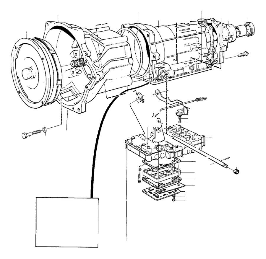 1987 Volvo Screw. Automatic, Transmission, Gearbox