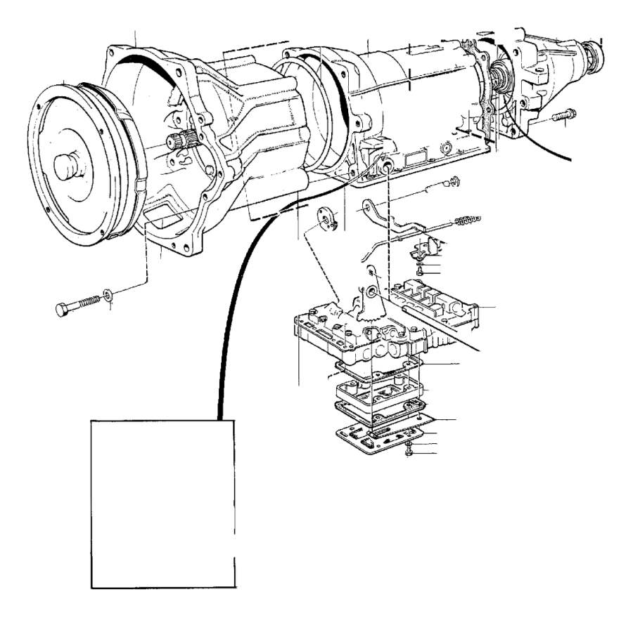 1995 Volvo 940 Flange screw. Automatic, Gearbox