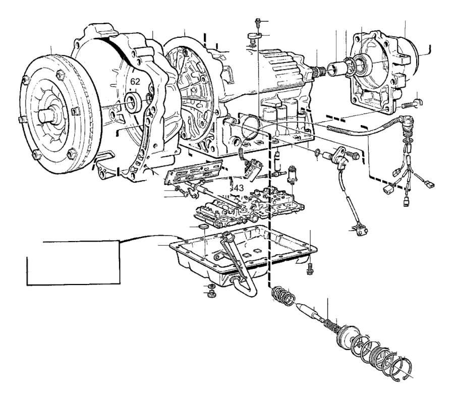 2001 Volvo S40 Flange screw. Engine, Mountings, Suspension
