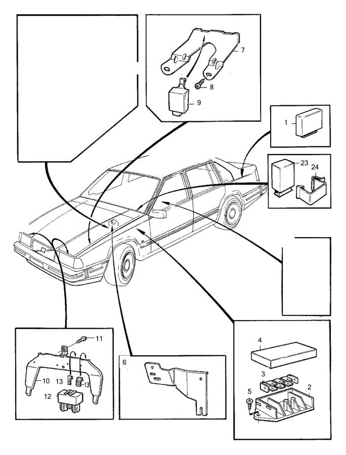 1998 Volvo V90 Engine Diagram : Volvo 960, s90, v90 1998