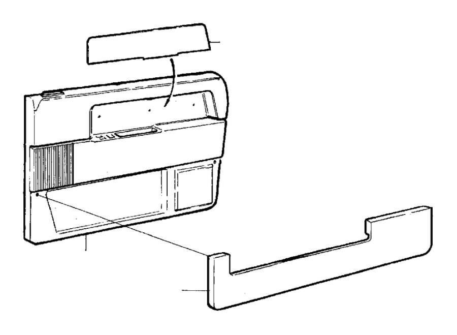 Volvo 740 Door Pocket. Fittings. Interior Trim and