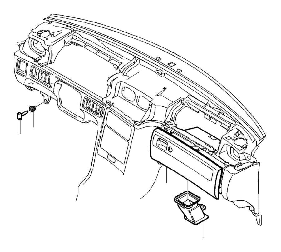 2002 Volvo C70 Air duct. Genuine Classic Part. Interior