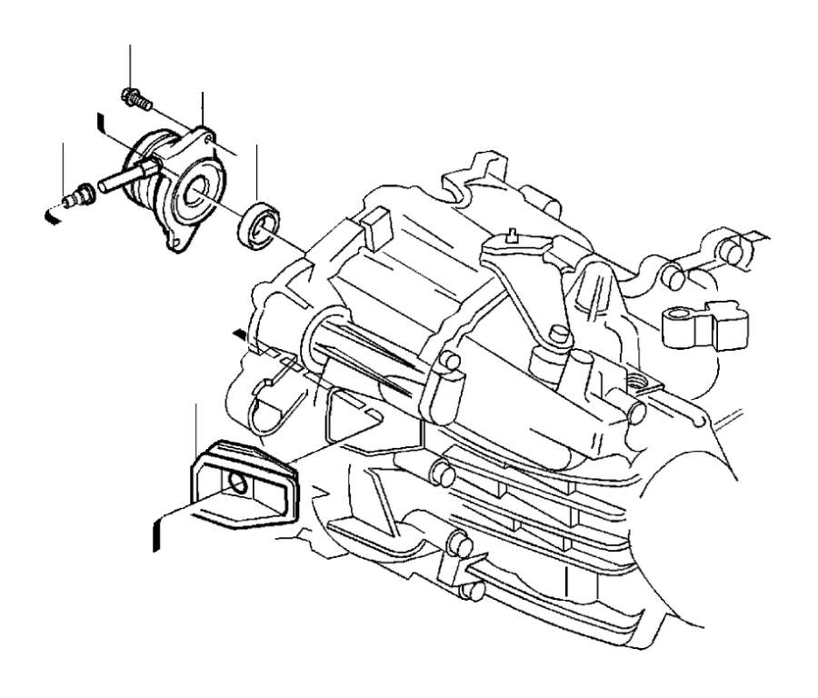 2001 Volvo S40 Manual Transmission Input Shaft Seal