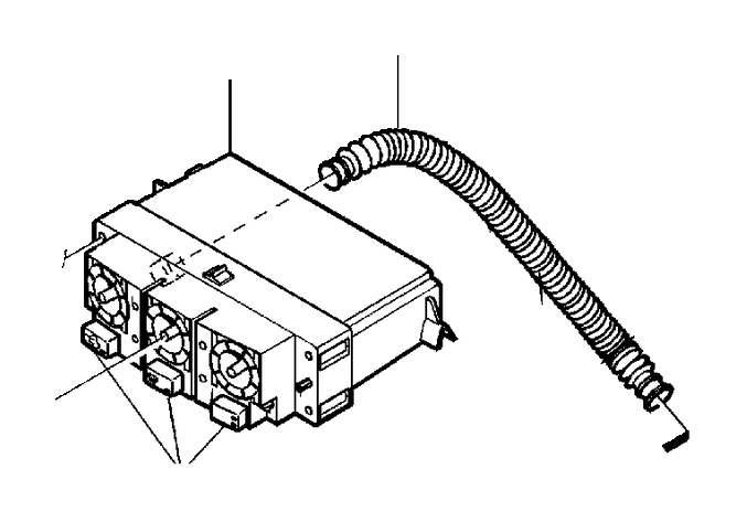 2001 Volvo V40 Hvac temperature control panel. E.c.c