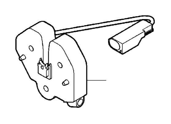 2006 Volvo XC90 Hood lock. Bonnet, Alarm, Vehicles