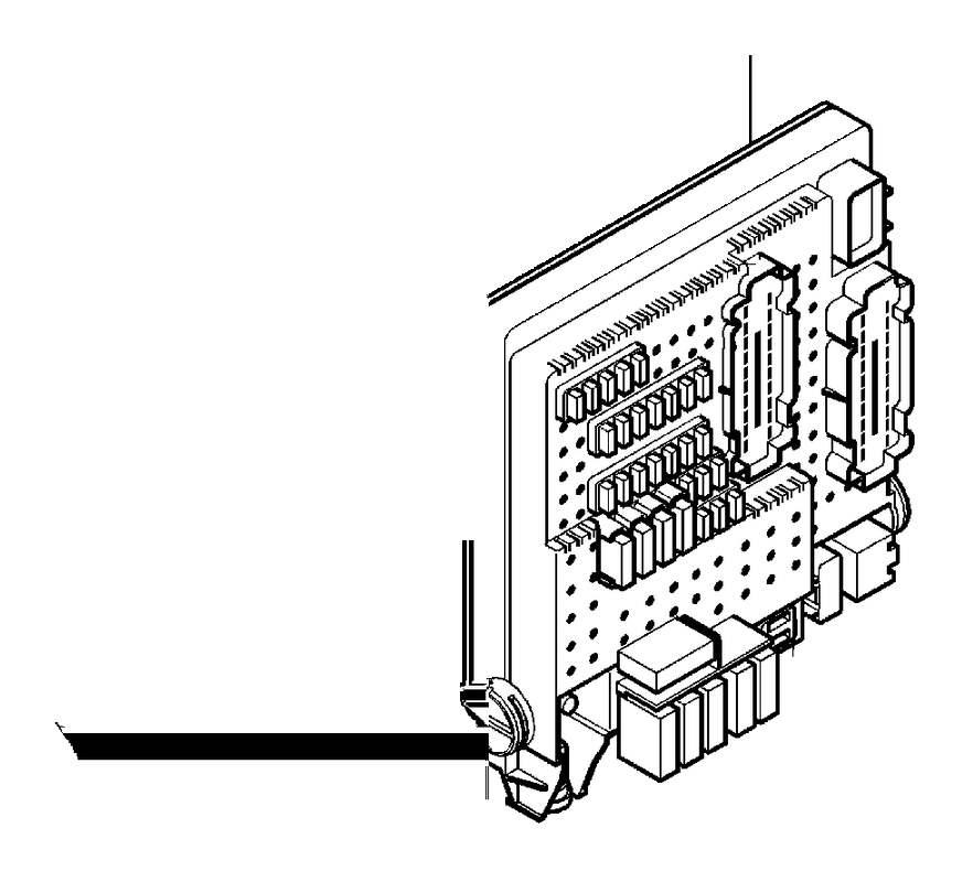 2005 Volvo V70 XC Electronics Box. Control Units