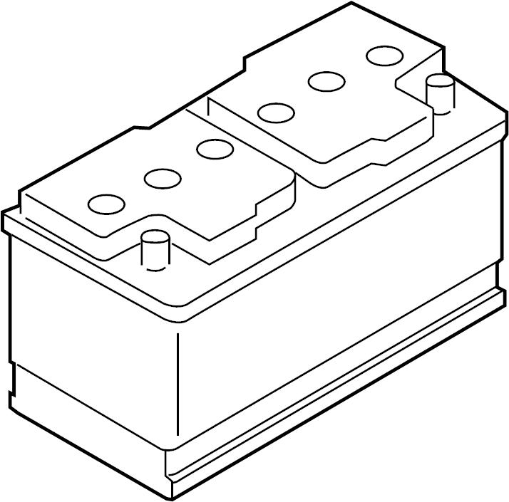 2015 Volvo V60 Battery. Mounting, System, Markets