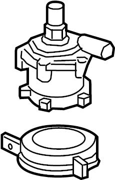Volvo XC90 Drive Motor Inverter Cooler Water Pump