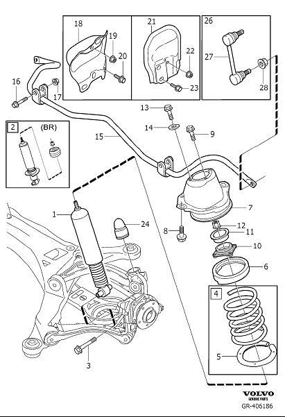 Volvo S60 Spring Seat. Active Chassis. Four C. Suspension